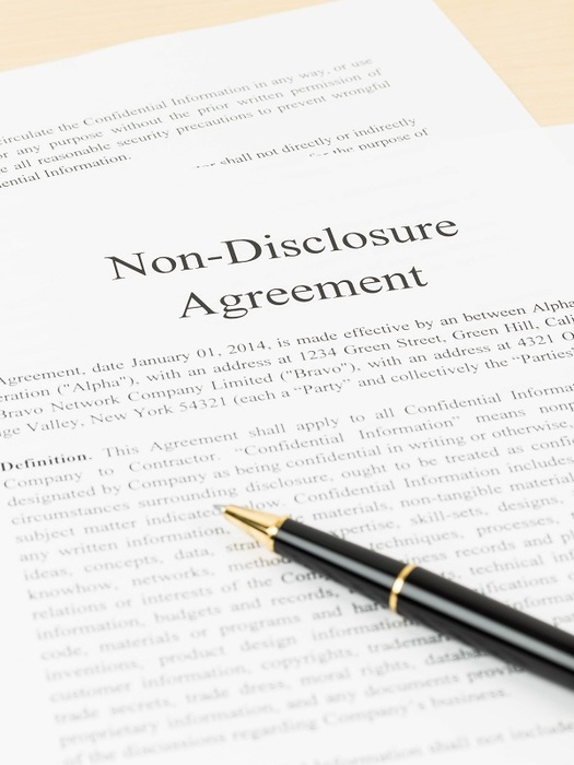 Personal injury settlements and non-disclosure agreements - non disclosure agreements