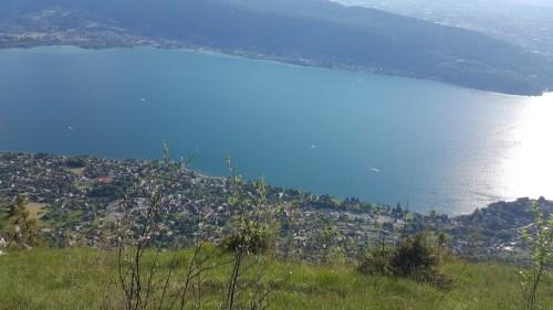 Le lac d'Annecy nous attends