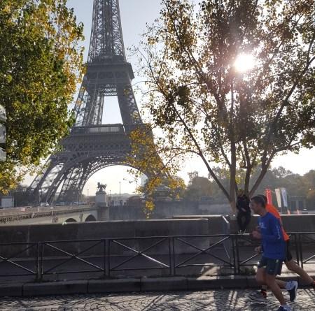il fait toujours beau pour l'ékiden de Paris