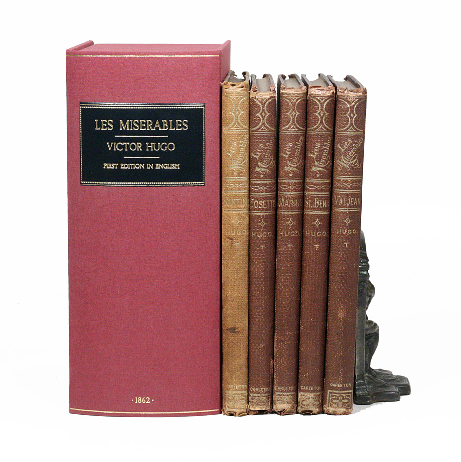 Mis Hogos Les Miserables By Victor Hugo On Manhattan Rare Book Company