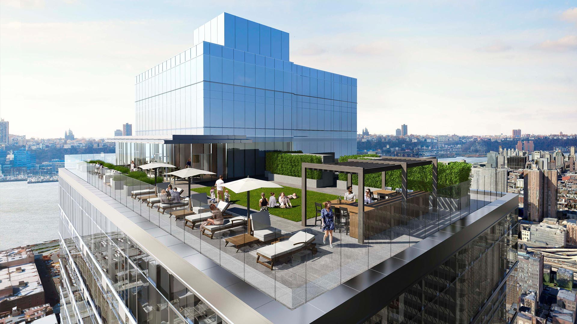 Hotel Toit Terrasse New York All Nyc Apartment Buildings With Roof Terrace