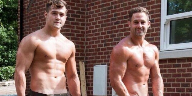 Caption This: Hot Naked Dudes With A Wheelbarrow