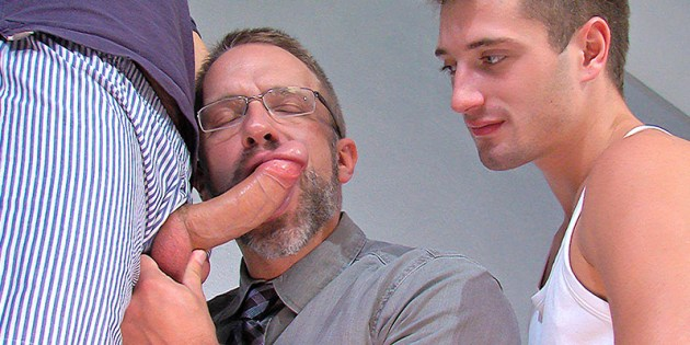 "#TBT Post: Three's Company: Dirk Caber, JD Phoenix & Dolan Wolf In ""Cut To The Chase"""