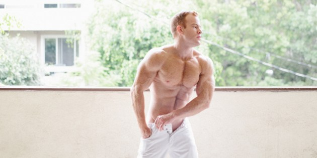 Manhunt Daily Wood: Ginger Muscle Jock Eddie Eduardo Is Dreamy As Fuck