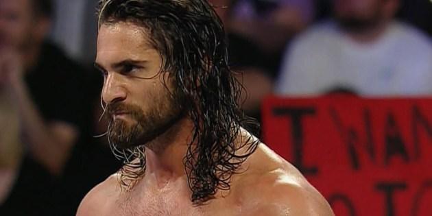 The Locker Room: WWE Wrestler Seth Rollins' Hard Cock