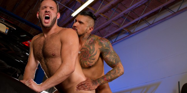 Cock-A-Doodle Do Me: Boomer Banks Gives Aaron Steel A DEEP Pounding