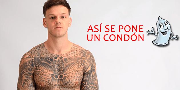 Concursante de X-Factor en Reino Unido, te enseña a poner un condón