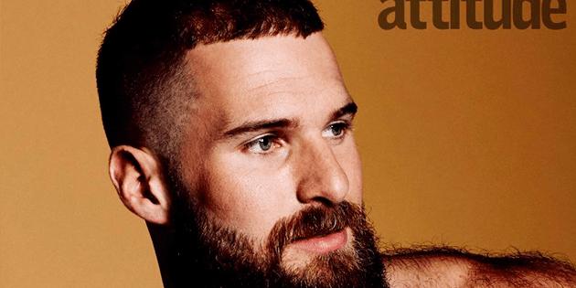 Matt Lister excampeón olímpico en portada de Attitude