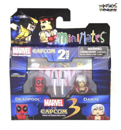 Diamond Select Deadpool z Dante Minimates