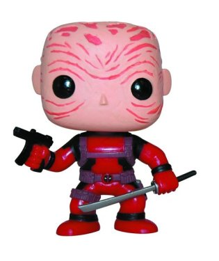 Funko Deadpool red unmasked