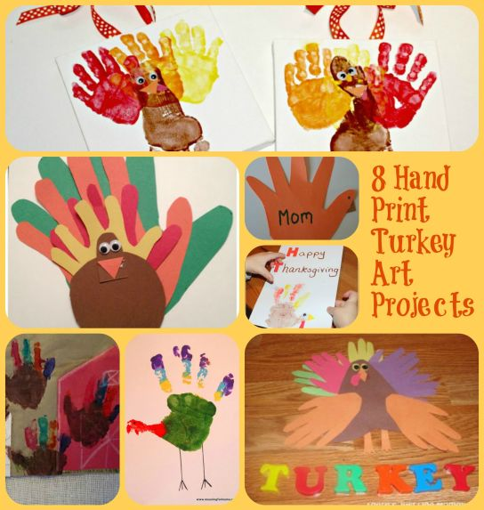 8handprint turkey art projectsfinal