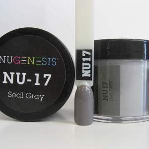 NuGenesis Dipping Powder - Seal Gray NU-17