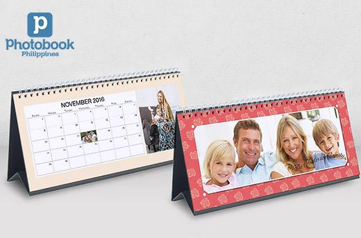 Greet 2016 with a Cool Personalized Calendar from Photobook