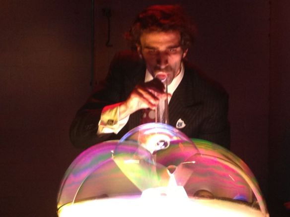 Samsam the BubbleMan