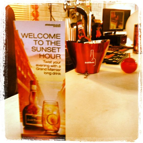 Welcome to the Sunset Hour with Grand Marnier