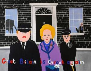 'Thatcherstic' – Margaret Thatcher Gallery Exhibition Opens In London