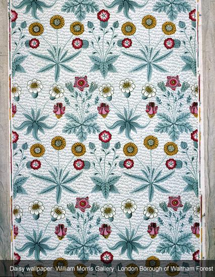 Daisy Wallpaper William Morris