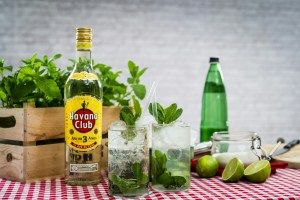 Authentic Cuban Mojito with Havana Club
