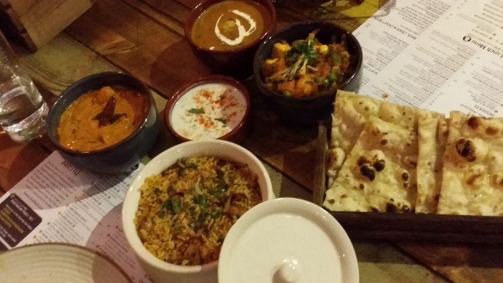 biryani chai thali
