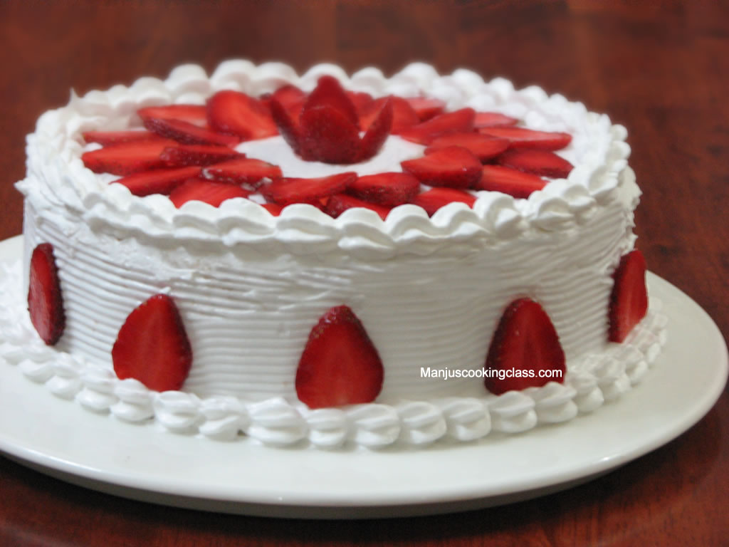 Fruit Decoration Gateau Advanced Cake Baking Classes Bangalore Cake Baking Classes