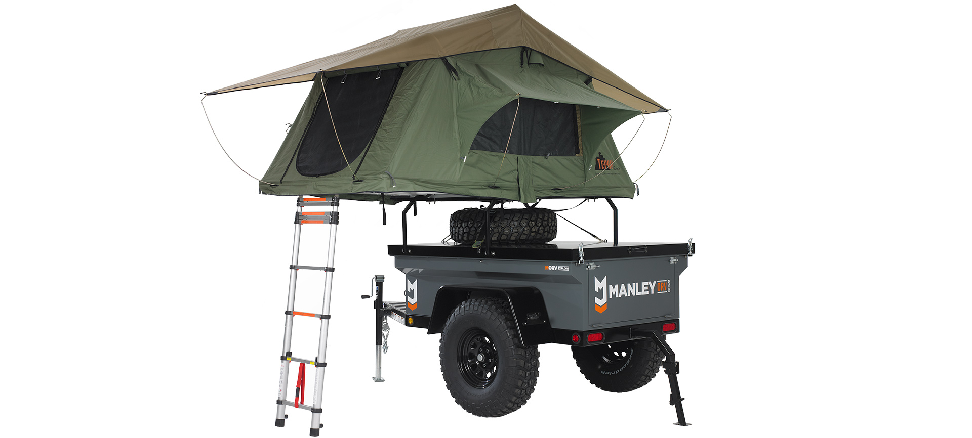 Outdoor Anhänger Manley Orv Company Rugged Reliable Ready