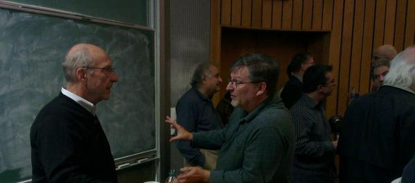 Prof. Cybenko on left.