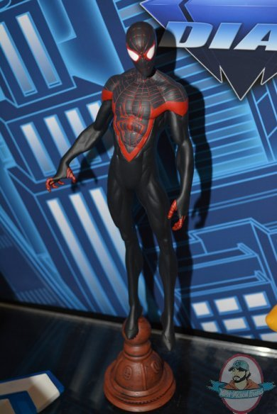 Toy Story Toys Videos Marvel Gallery Statue Spider Man Miles Morales By Diamond