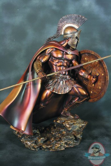 Girl In Action Wallpaper Leonidas Faux Bronze 1 4 Scale Statue By Arh Studies Man