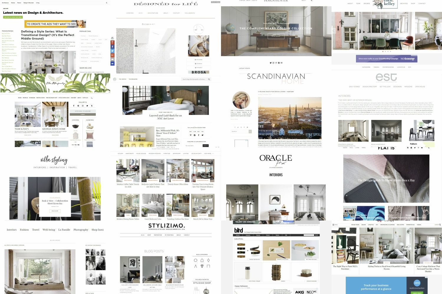 Design Interieur Blog 23 Best Interior Design Blogs And Websites Man Of Many