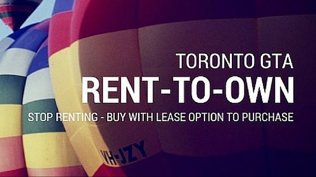 Best Rent-To-Own Homes Toronto ON - Buy GTA Real Estate
