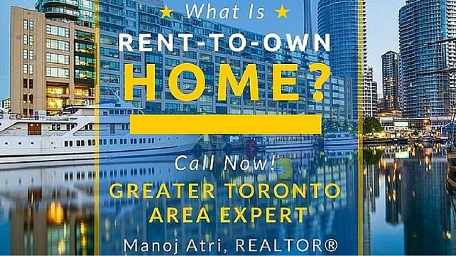 Best Rent To Own Homes Toronto Ontario CA - Buy GTA Real Estate