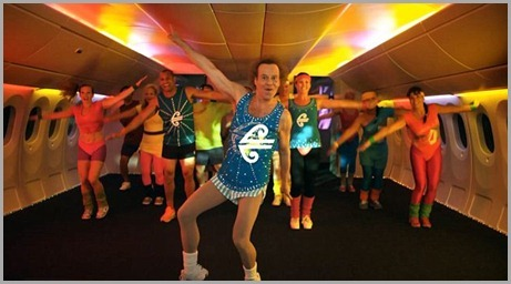 Richard Simmons Dancing in the Aisle