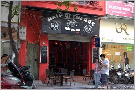 Hair of the Dog Bar, Hanoi Vietnam