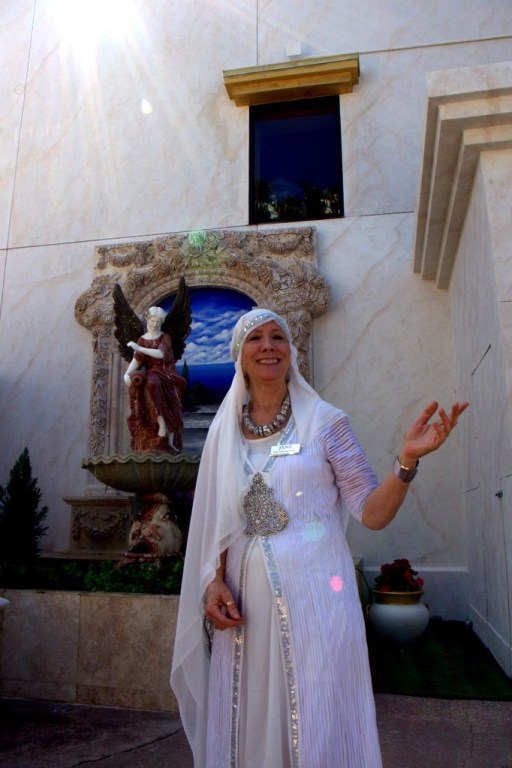 Jane from Guest Services --- The Holy Land Experience, Orlando, Florida