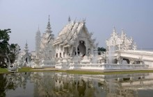 The Creepily Peculiar White Temple of Chiang Rai