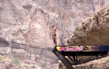 Cliff Diving (and Fear-facing) in Wadi Shab, Oman