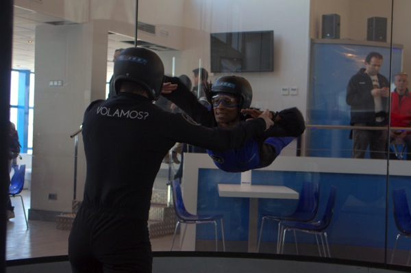 Wind Tunnel, Indoor Skydiving, April D. Thompson, Windoor Realfly Girona Spain 039