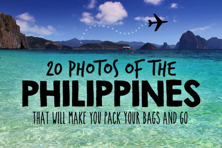 20 Photos of the Philippines that will make you pack your bags and go  Just One Way Ticket  Top 100 Travel Blog Posts of 2014