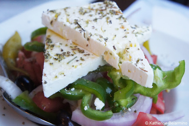 Horiatiki Salata Greek Salad -- Travel The World -- Top 100 Travel Blog Posts of 2015