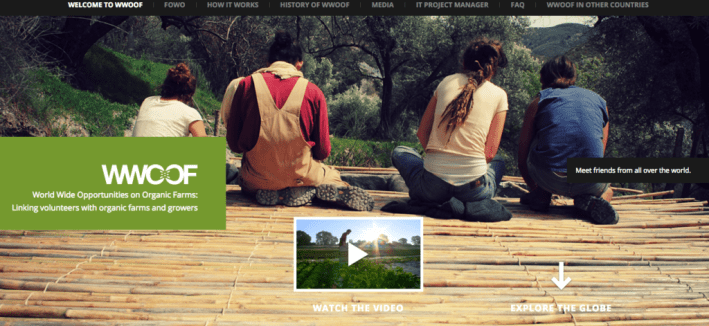 WWOOF.net website