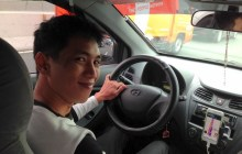 Uber Manila: Taken for a ride with an Uber driver on his first day