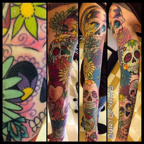 Get The Best Sleeve Tattoos in Denver at Mantra Tattoo