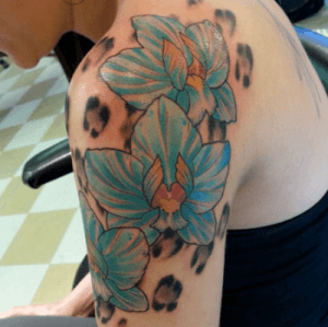 Tattoo by Delshay at Mantra