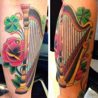 custom music tattoo