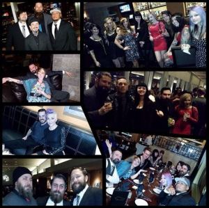 Mantra staff at Tattoo Classic Holiday Party