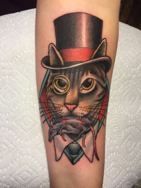 A look into tattoo artist Steve Martin