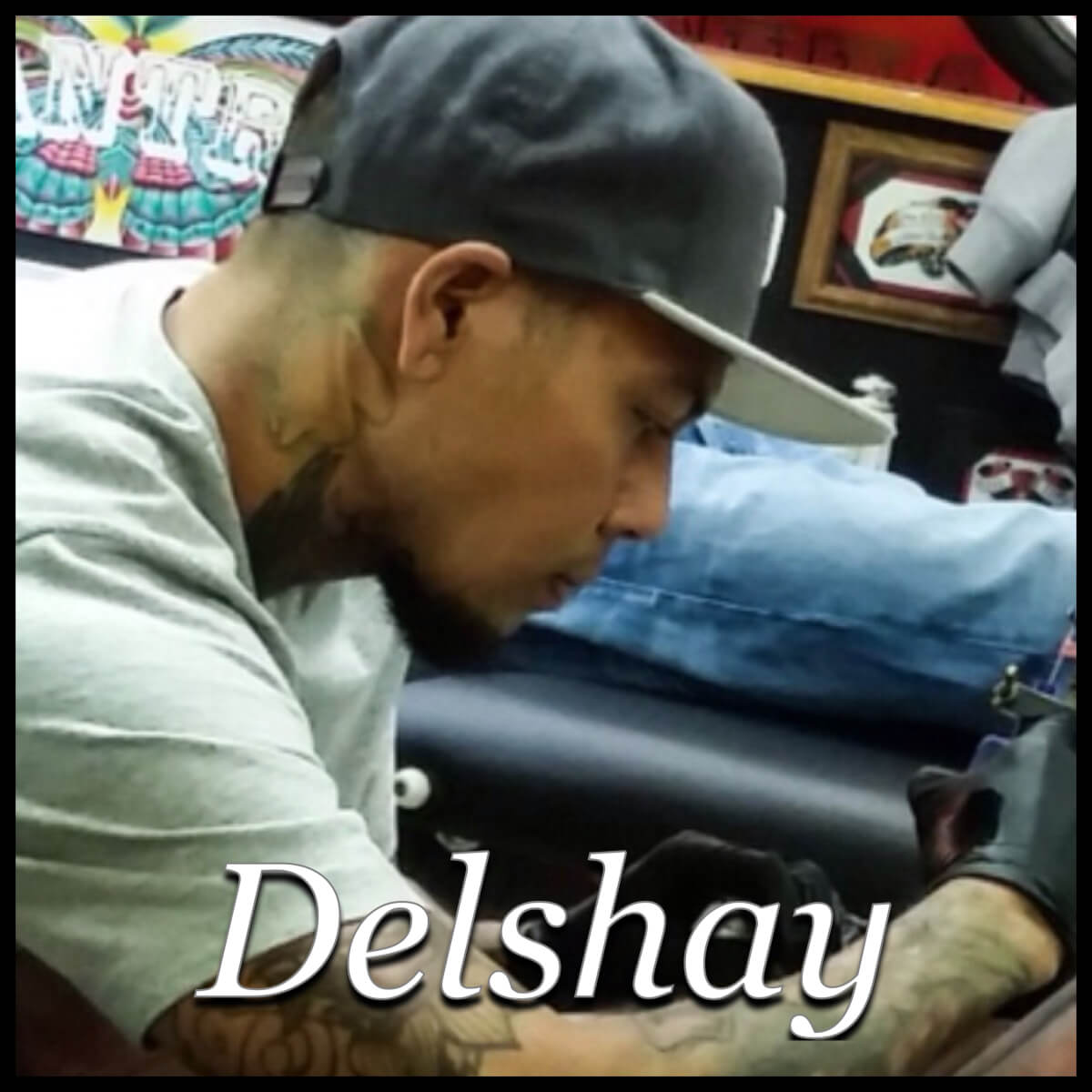 Meet Delshay, one of our old school work artist