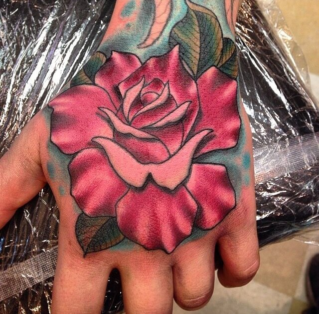 Rose Tattoos at Mantra Tattoo