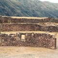 Ruínas incas no Vale Sagrado