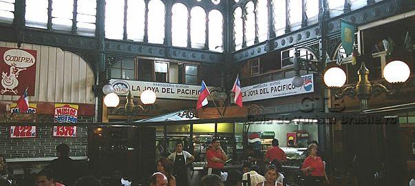 Mercado de Santiago do Chile